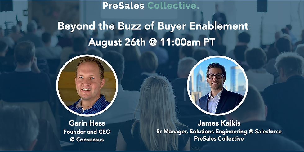 Beyond the Buzz of Buyer Enablement