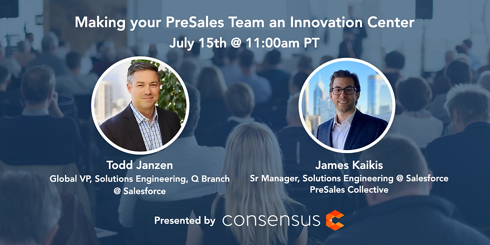 Making your PreSales Team an Innovation Center