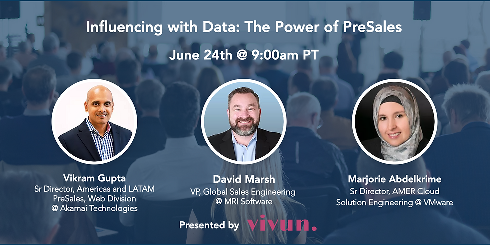 Influencing with Data: The Power of PreSales