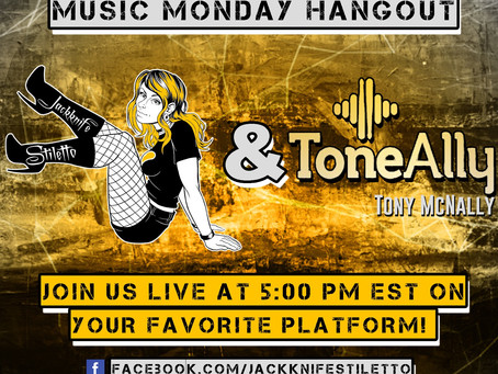 ToneAlly does Music Monday Hangout!