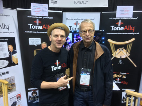 DW Founder Don Lombardi visits ToneAlly at NAMM19!
