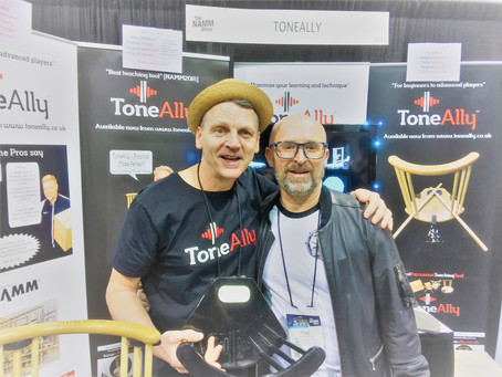 Day 2 at the ToneAlly Booth NAMM19