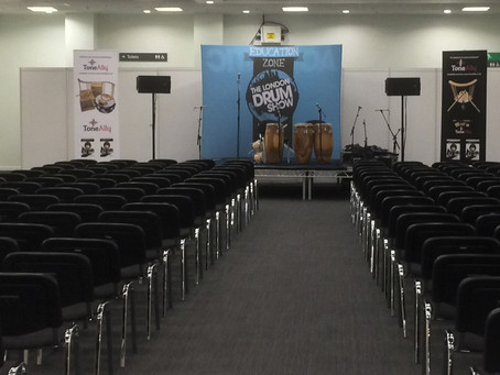 ToneAlly @ The London Drum Show!