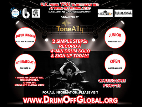 Send us your 4min Drum Solo!