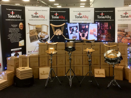 Modern Drummer & London Drum Show with ToneAlly!