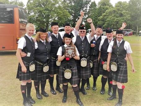 """We won the Scottish Drumming Championships! Big thanks to ToneAlly!"""
