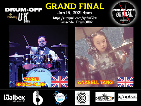 Drum-Off UK Winners Wow the Global Judges!