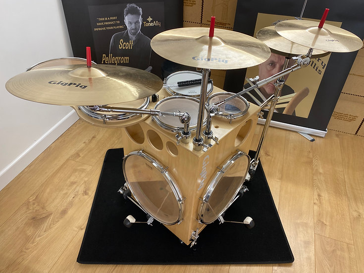 GigPig Double Kick 7 Piece with Cymbals