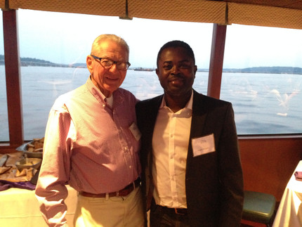 With Dr. Allan Hoffman