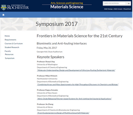 Dr. Amoako gives keynote lecture at Frontiers in Materials Science for the 21st Century Conference,