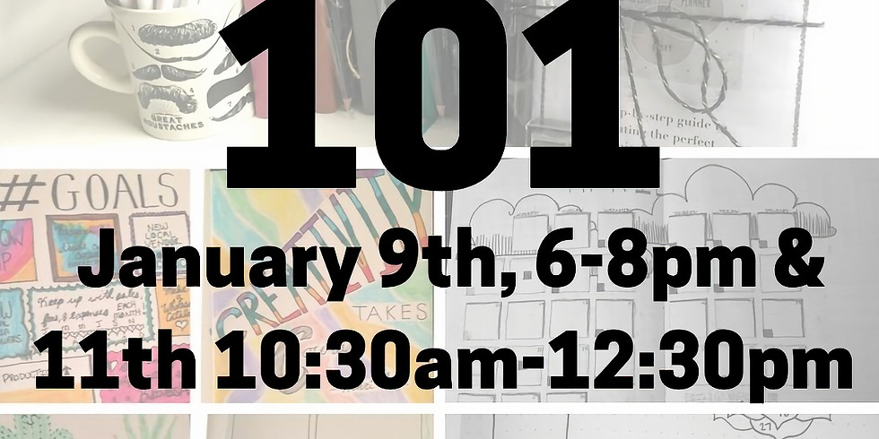 Bullet Journaling 101 (1/11/20)
