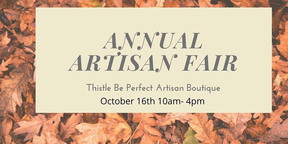 Annual Fall Artisan Fair