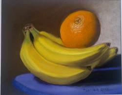 Still Life with Fruit: Pastel