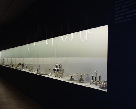 Museografia da Exposição Ourivesaria Portuguesa e seus Mestres