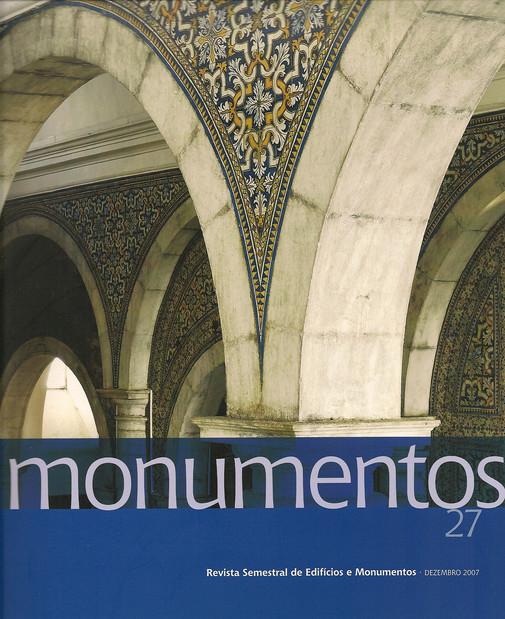 Publicação Revista Monumentos 27