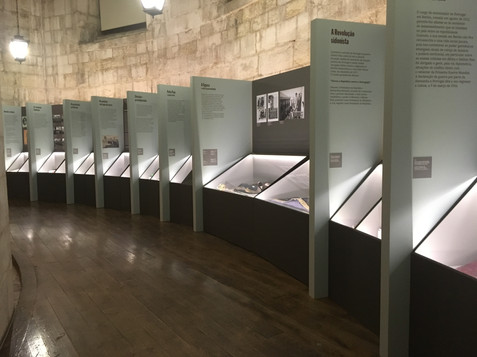 Museografia da Exposição Sidónio Pais: O retrato do Paísno tempo da Grande Guerra