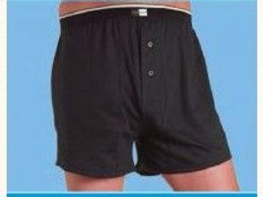 Ostomy Underwear High Waisted Mens Cotton Boxer