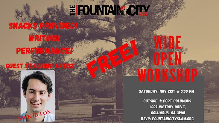 _November_Fountain City Slam Wide Open W