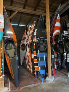 Bateaux de slalom
