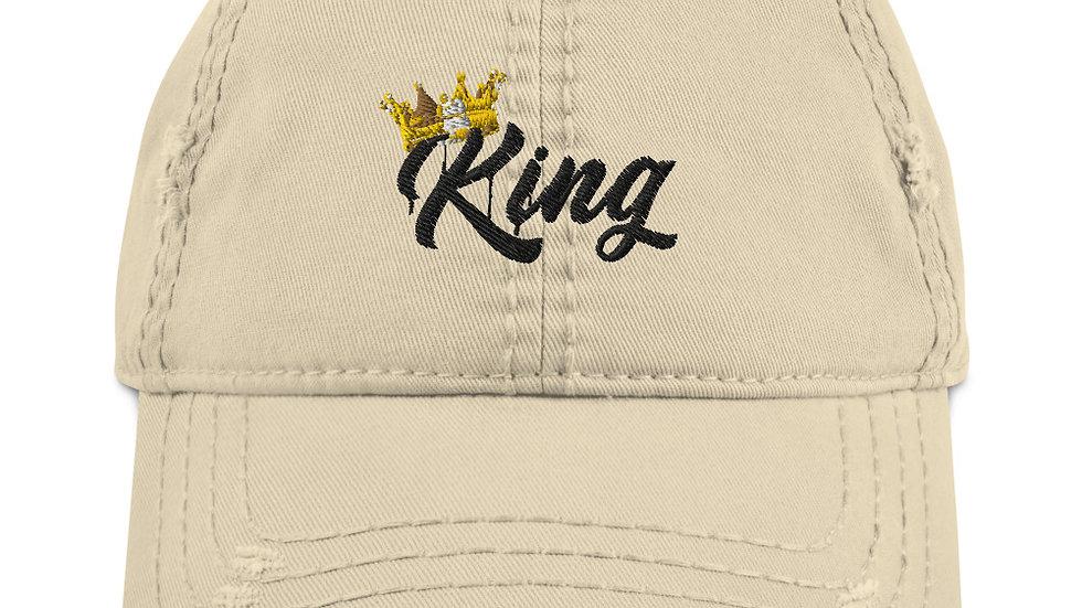 Distressed King Cap