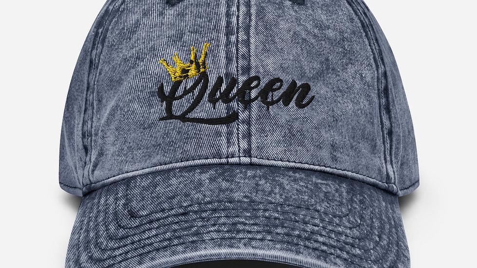 Vintage Queen Cap