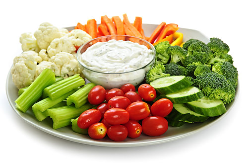 Veggie Platter (includes ranch dressing)