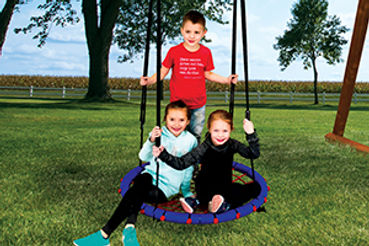 The popular Web Swing fits multiple kids