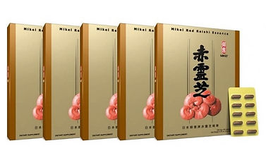 5 Mikei red reishi special offer