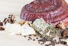 Reishi and herbs