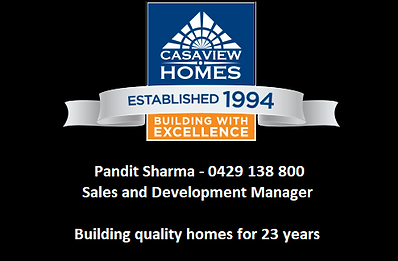 GVLAS 2017 Gold Sponsor Casaview Homes