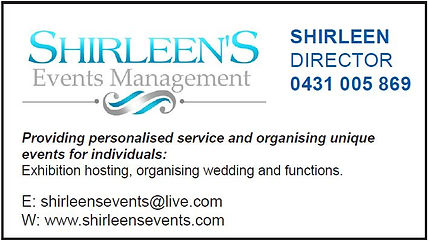 GVLAS Sponsor - Shirleen's Events Management