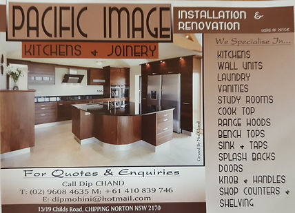 GVLAS 2017 Gold sponsor - Pacific ImageKitchens and Joinery