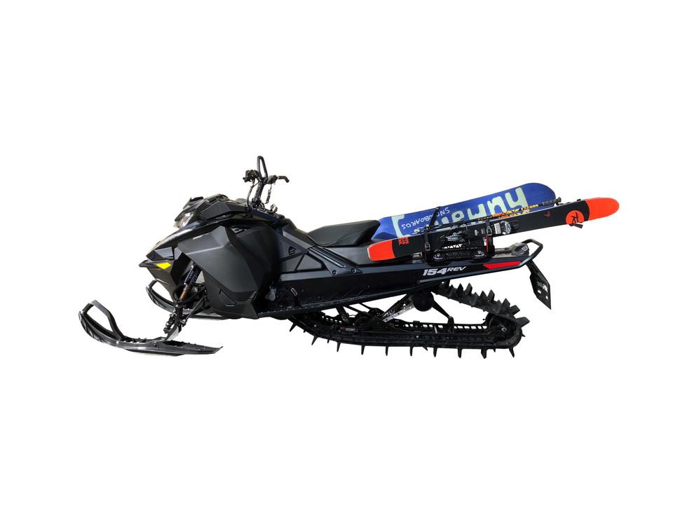 Snowmobile Ski & Snowboard rack