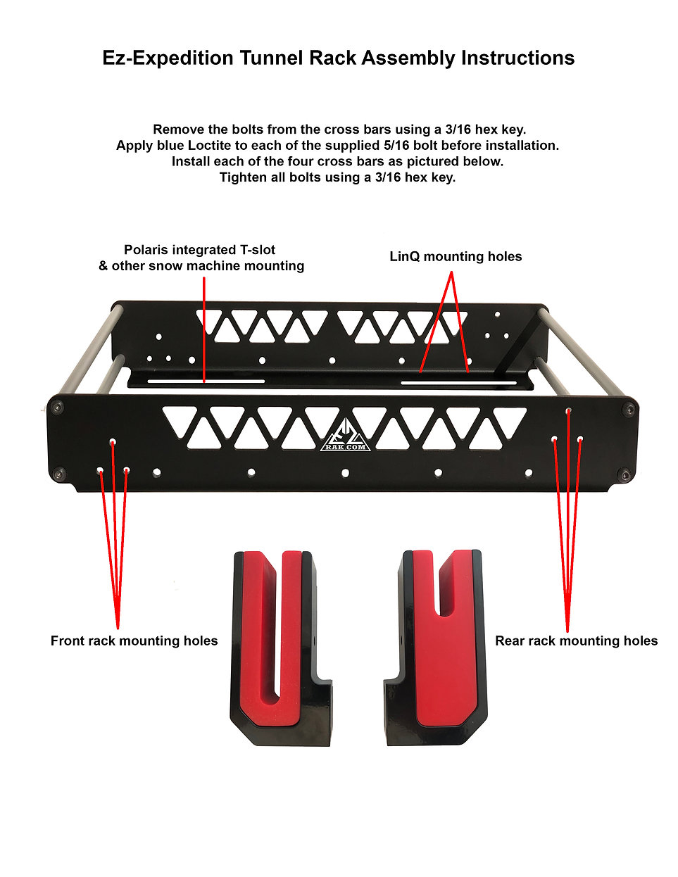 Ez-Exadition Rack Assembly Instructions.