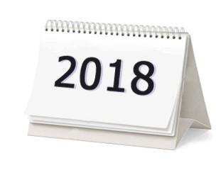 Calendario Anhel 2018