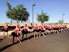 Homecoming Parade Routine