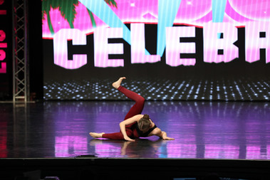 """""""Body Love"""" at Celebrity Dance Competition"""