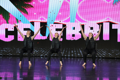 """""""Love"""" at Celebrity Dance Competition"""
