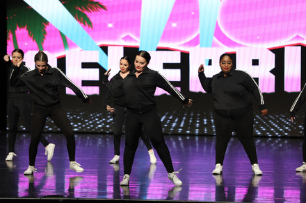 """""""Hit It"""" at Celebrity Dance Competition"""