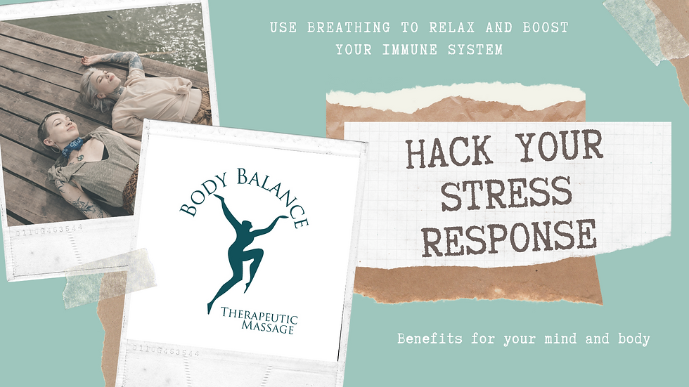 How to Instantly Hack Your Stress Response