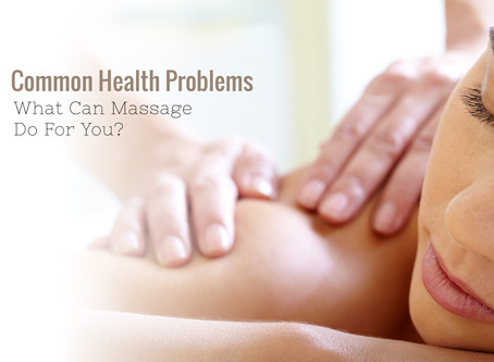 What can Massage do for YOU?