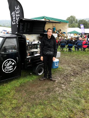 Wet day at Nidderdale Show