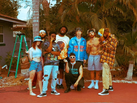 9-piece collective seeyousoon drop latest rap masterpiece 'Faster Please'