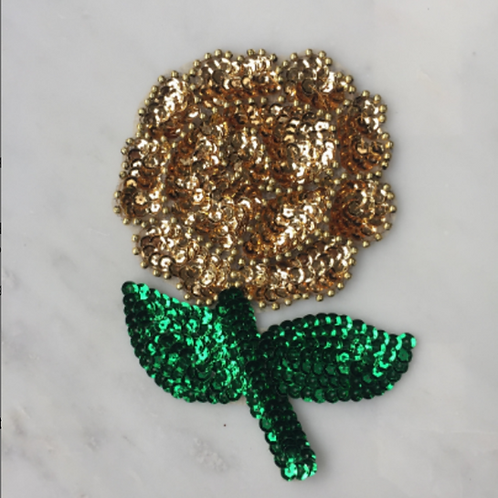 Gold Rose Patch