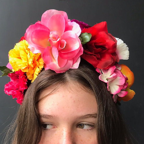 Flower Crown - Multicoloured