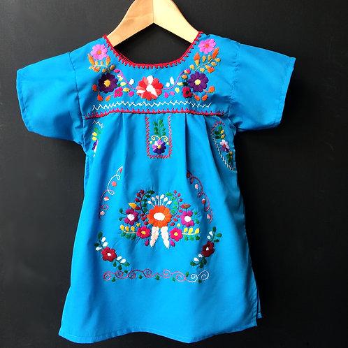 Girls Dress - Blue