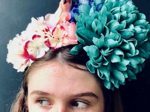 Flower Crown - Pink Parrot