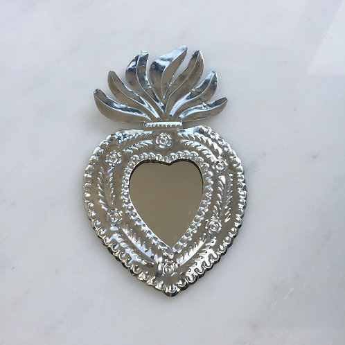 Small Metallic Mirror