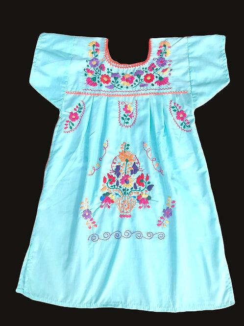 Girls Dress - Mint
