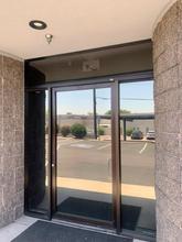 Dr. Office Scottsdale Arizona Xpel Dark Neutral 25 Window Film Side Door